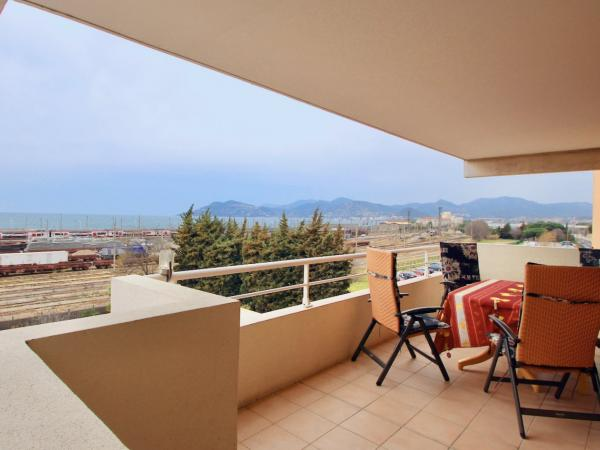 Cannes - Appartement 3 chambres vue mer & parking privé / garage